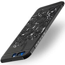 Роскошные антидетонационных силиконовый чехол для Huawei Honor 9 случаях Honor9 Чехлы для Honor 9 случае плюс TPU высокое качество чехол телефона