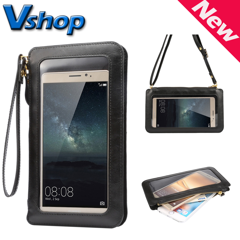 6 3 inch Universal Touch Screen Cell Phone Case Cover Shoulder Mobile Phones Bags for Samsung