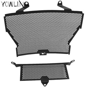 Motorcycle Accessories S1000RR S1000XR Radiator Grille + Oil Cooler Guard Cover Protection For BMW S1000 RR S1000R HP4(China)