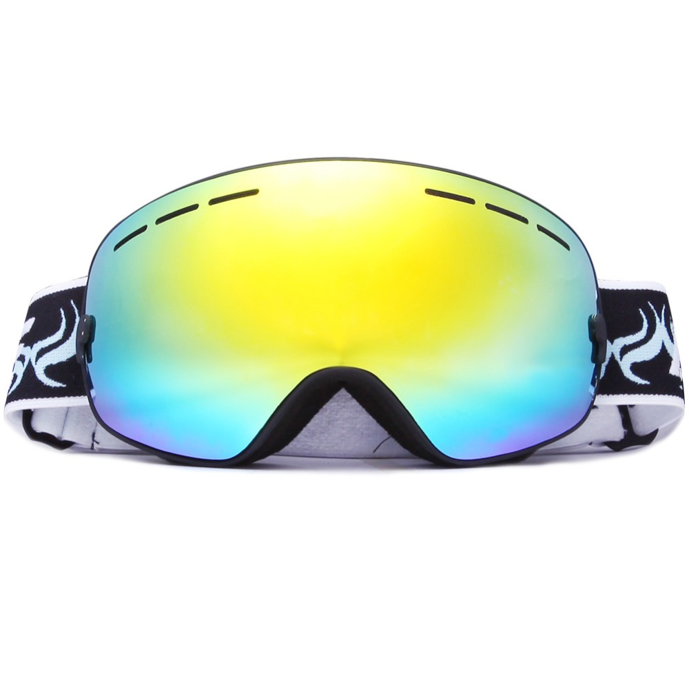 Ski Goggles,Winter Snow Sports Glasses with Spherical Dual Lens For Men Women