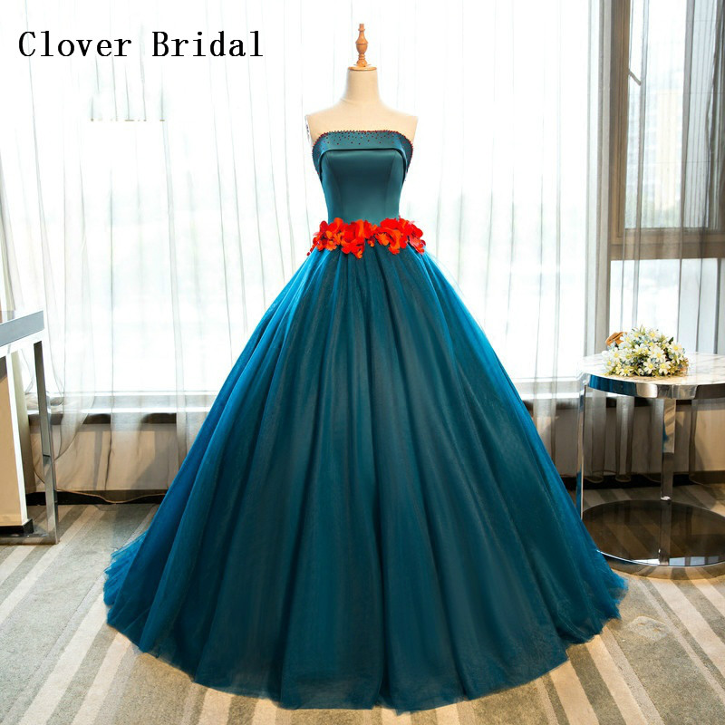 Green Quinceanera Dresses Satin With Flowers Sash Ball Gownsweet 16 Dresses Ball Gowns Vestidos De 15 Anos Vestido Rosa