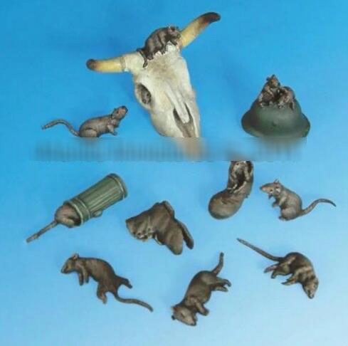 1/35 Modified Parts Animal Set