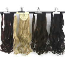 Soowee High Temperature Fiber Synthetic Hair Wavy Clip In Ponytail Hair Extensions Fake Hair Pony Tails Ponytails Hair Pieces