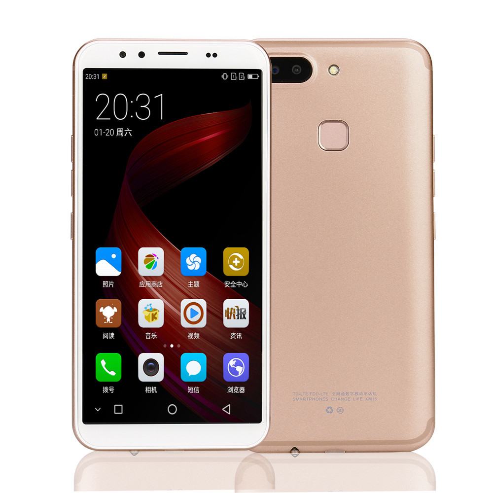 Unlocked 5.8inch Large Screen Android 6.0 Dual SIM Quad-core Cell Phone Wifi Apr19.28