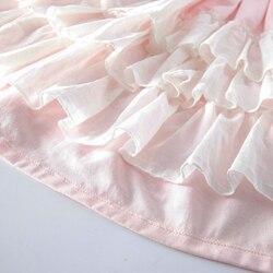 Pink girl long dress,Junior Bridesmaid dress Wedding girl dress Party girl dress Birthday girl dress Lace baby dress Tutu dresses (8)_