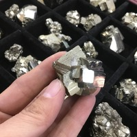 Natural rough raw pyrite stone Golden Iron Cubic mineral Specimens