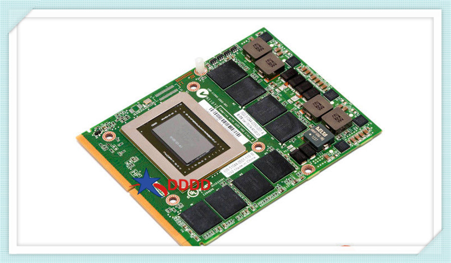 Original FOR HP QUADRO 3000M GPU 2GB 240 CORES MXM GRAPHICS card board 677909-001 100% working perfect new quadro fx 5800 fz559aa 519299 536797 001 drawing graphics warranty 3 years