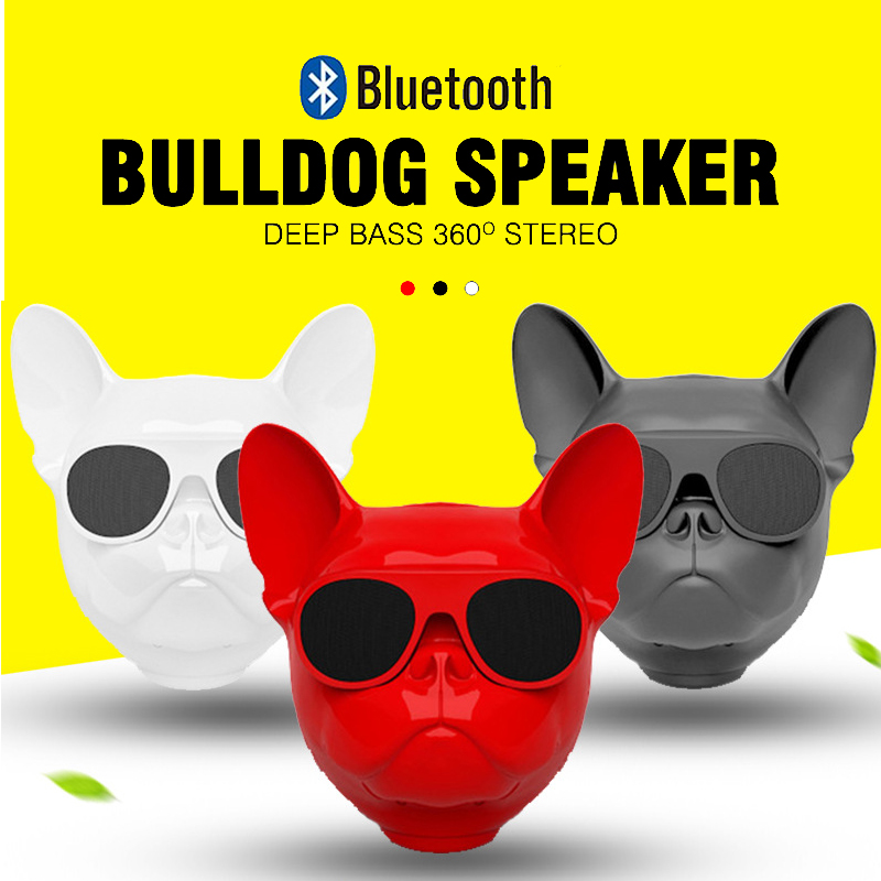 bull dog Nano Wireless Speaker Bulldog Bluetooth Speaker Outdoor Portable HIFI Bass Speaker Multipurpose Touch Control (9)