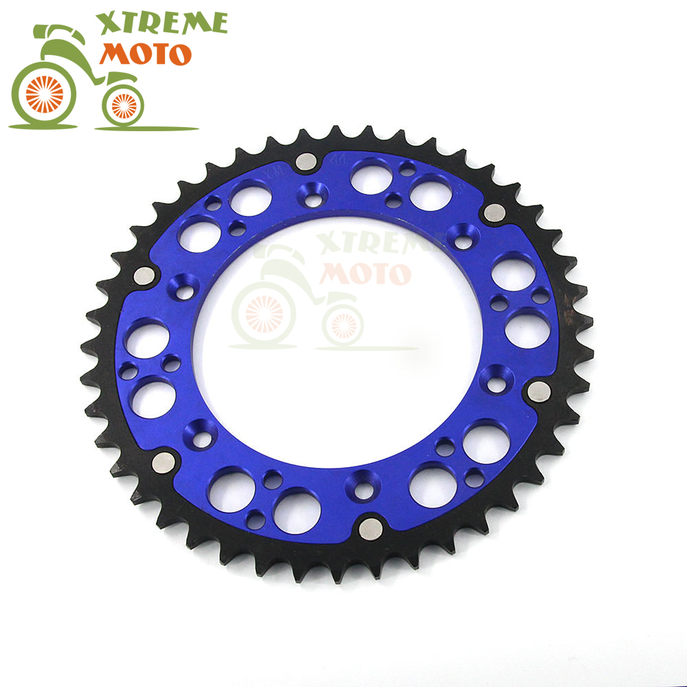 51T CNC Rear Chain Sprocket For Husaberg TE125 250 300 FE250 350 390 400 450 501 550 570 FC350 400 501 550 FS450 550 570 FX450 billet rear hub carriers for losi 5ive t