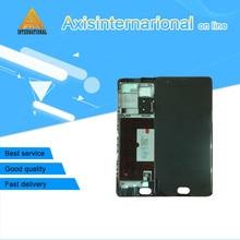 Para Oneplus 3 T A3010 Axisinternational pantalla LCD + el panel de Tacto Digitalizador con marco Negro/Blanco envío gratis