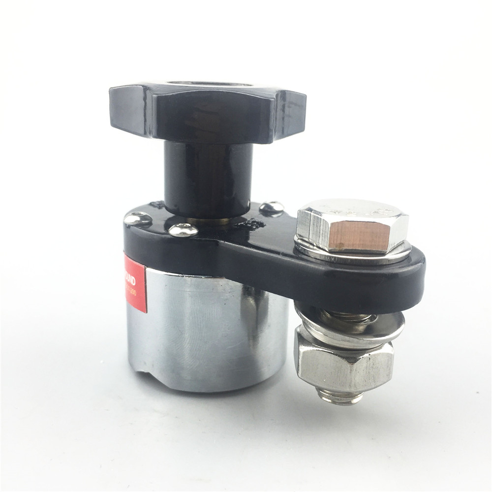 ALLSOME On/Off Magnetic Welding Ground Clamp Rare Earth Switchable Magnet Welding Holder 200A/300A/600A