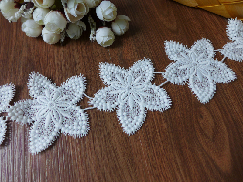 Aliexpress.com : buy 5 yards top quality off white flower lace