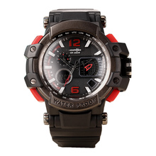 ILED EXPON Digital Reloj de Los Hombres Del Ejército Militar Reloj de pulsera Resistente Al Agua Fecha Calendario Casual Relojes Deportivos Hombres
