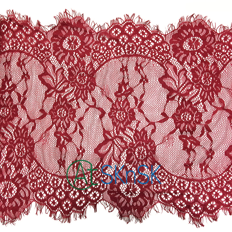 3 Yard White Soft Eyelash Lace Trim Trimming for Sewing Decoration 33cm Wide