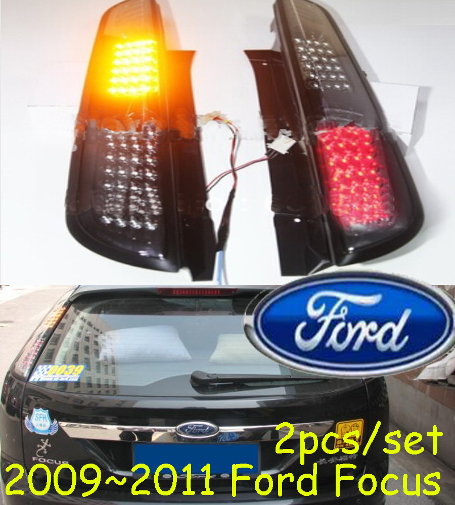 2009 2010 2011year tail light for <font><b>Ford</b></font> <font><b>Focus</b></font> <font><b>taillight</b></font> (Hatch-back car use) car accessories LED DRL Taillamp for <font><b>Focus</b></font> fog light image