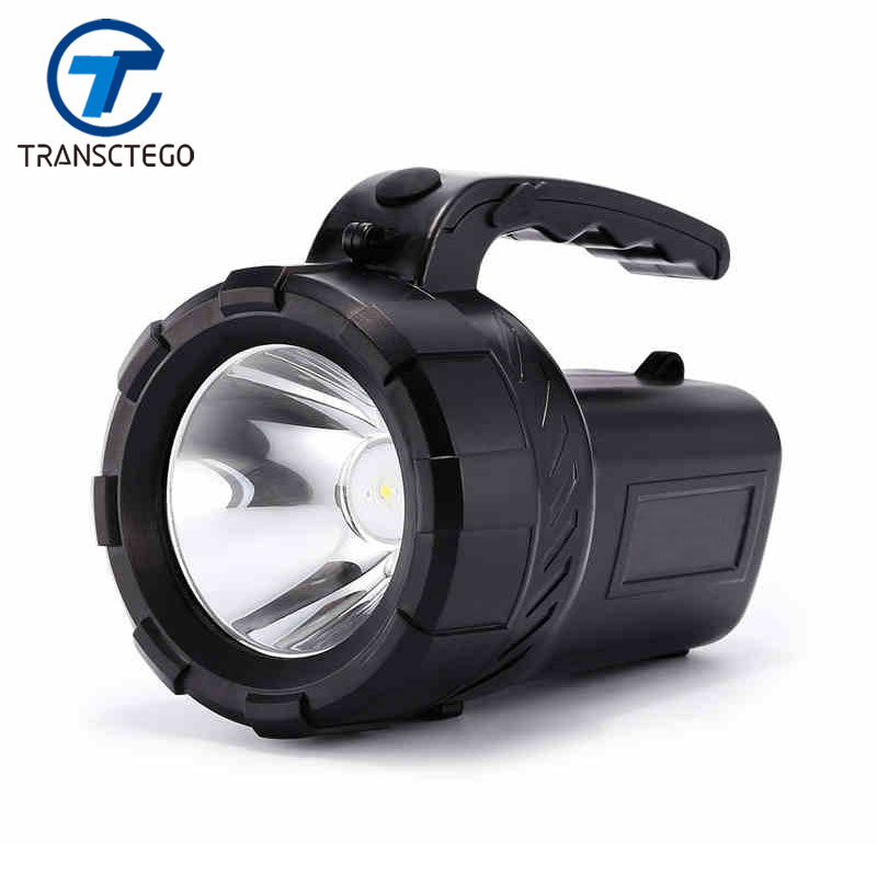 Flashlight Led Lantern Searchlight 18650 Torch Rechargeable Lantern Long Range Outdoor Waterproof Hunter Lamp Portable Spotlight portable flashlight torch light led rechargeable searchlight 30w long range bright spotlight for hunting and camp