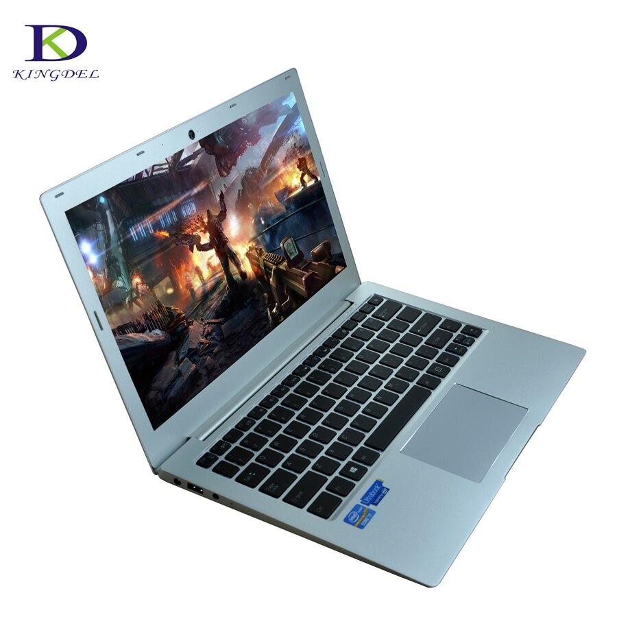 Newest 13.3 Inch Laptop Ultrabook Computer Core i5 7200U Max 8GB RAM 512GB SSD 1TB HDD Webcam Backlight Keyboard Full Metal Case