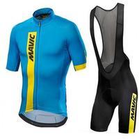 2017 Mavic Cycling Set Cycling Jersey Summer Team Short Sleeves Bike Clothing Ropa Ciclismo Cycling Clothing