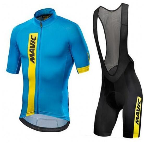 2017 Mavic Cycling Set Cycling Jersey Summer Team Short Sleeves Bike Clothing Ropa Ciclismo Cycling Clothing Sports Suit M328