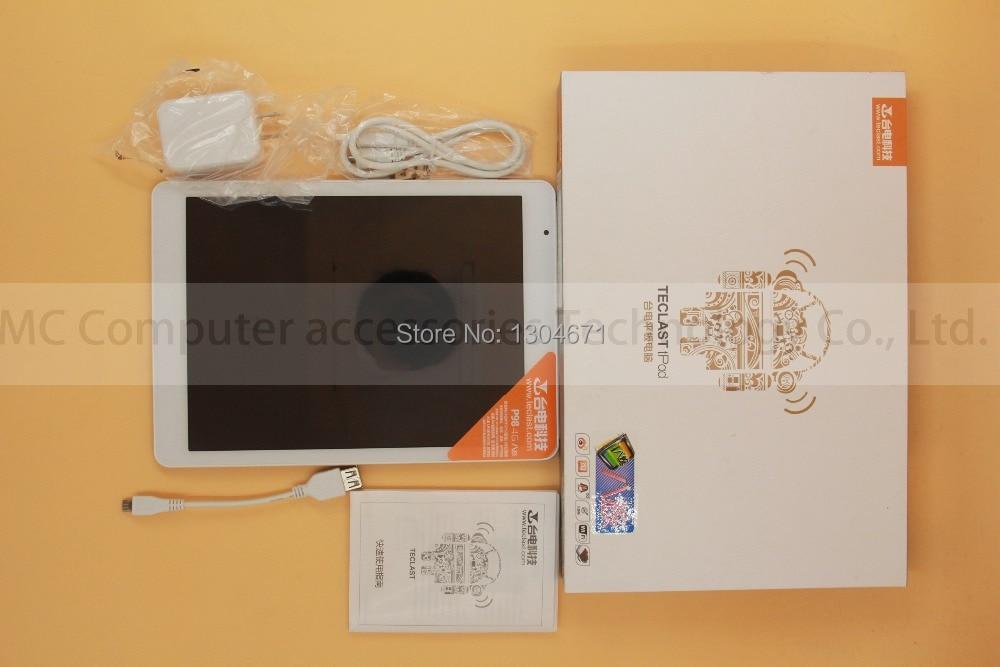 Teclast P98 air 4g Octa Core MTK8752 Retina 9.7 pouces 2048x1536 Double Caméra 8.0MP Android 4.4 GPS fdd-lte Téléphone Appel 2 gb/32 gb