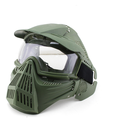 Airsoft Protective Full face Mask Guangzhou full-face Safe mask with Goggle for outdoor  ...