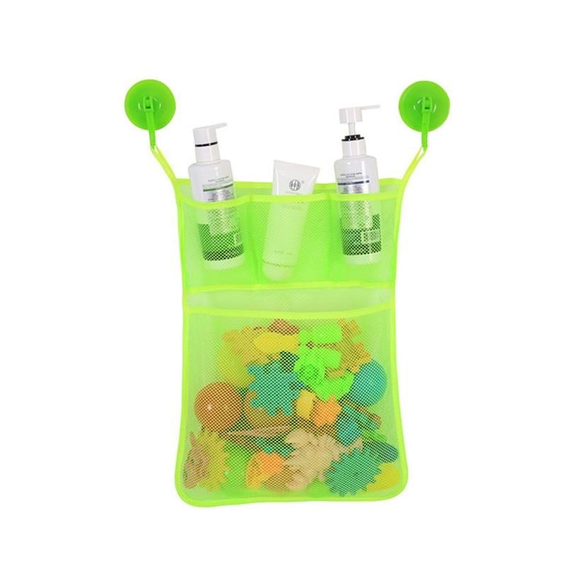 Kids-Baby-Bath-Toys-Tidy-Storage-Suction-Cup-Bag-Baby-Bathroom-Toys-Mesh-Bag-Organiser-Net (4)