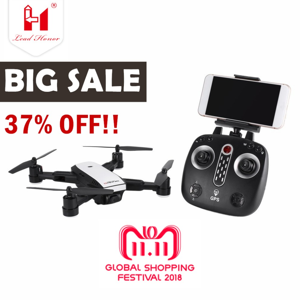 X28 2.4G FPV Foldable GPS Drone RC Quadcopter with Adjustable 720P HD Camera Real-time Altitude Hold Follow Me ht Квадрокоптер