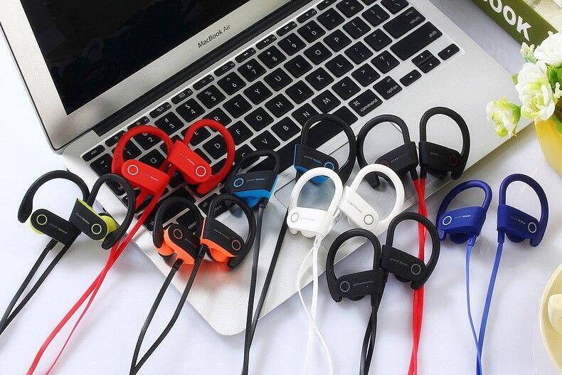 Bluetooth 4.2 Earphones Headphone Sport Running Earphone Outdoor Wireless Headset Stereo Earbuds with Mic for Earpods Airpods