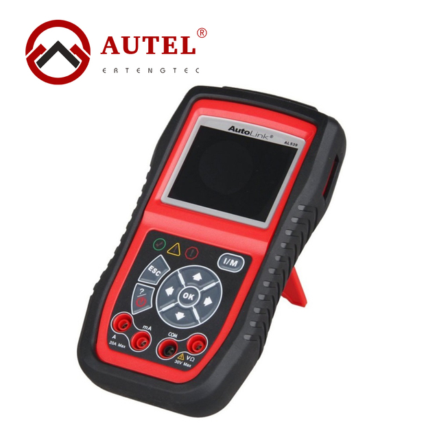 Autel AutoLink AL539B OBDII Code Reader&Electrical Test Tool Car Scan Tool Automotive Escaner Electrical Battery Test Tool