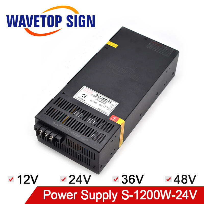 MeanWell Hign Power Switching Power Supply 1200W Output 12V100A 24V50A 36V33A 48V25A Output Voltage Adjustable