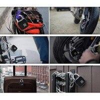 P3 Smart Fingerprint Padlock Low Power Waterproof Indoor Outdoor Security Digital Lock SIR Shop