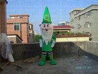 green dress santa claus mascot costume Christmas mascot costumes