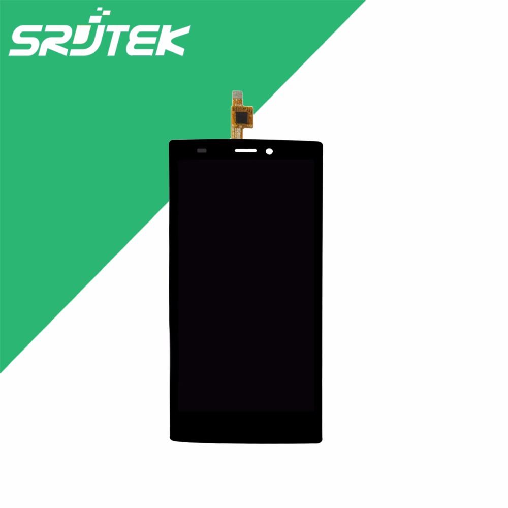 High Quality Black White Color LCD Display + Touch Screen Digitizer Sensor For Wiko Ridge 4G Assembly Replacement high quality black silver lcd display