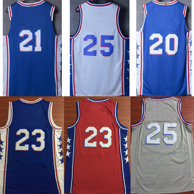 new product 2b816 f95dc US $15.96 5% OFF|New tank tops city edition Jimmy Butler Joel Embiid Ben  Simmons Ricky Rubio Karl Malone John Stockton Donovan Mitchell jerseys-in  ...