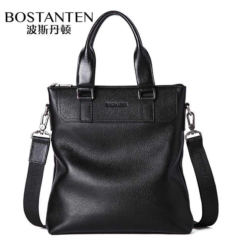 Bostanten men's Handbag Genuine Leather Shoulder Crossbody Cow Leather Bussiness Briefcase Fashion High Quality Messenger bag high quality crossbody bag fashion women leather handbag crossbody shoulder messenger phone coin bag dropshipping ma25