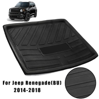 Auzan Rear Boot Cargo Liner Trunk Floor Mat Luggage Tray For Jeep Renegade 2014 2018 Car