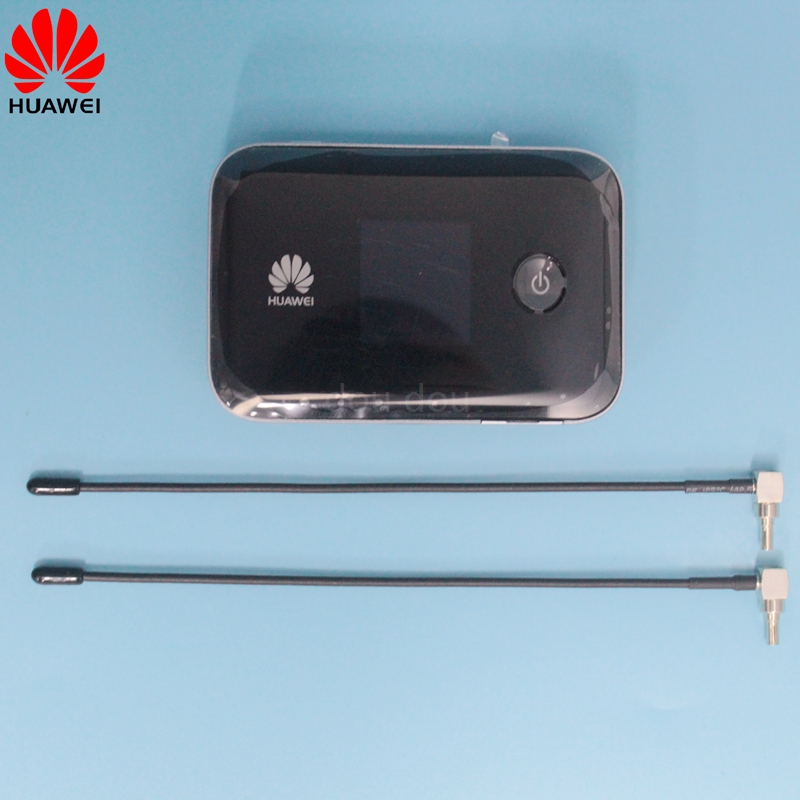 Unlocked Huawei Mobile WiFi E5377 E5377Ts 32 4G 150Mbps with 3560 Mah battery with Antenna 4G LTE Wireless router-in 3G/4G Routers from Computer & Office