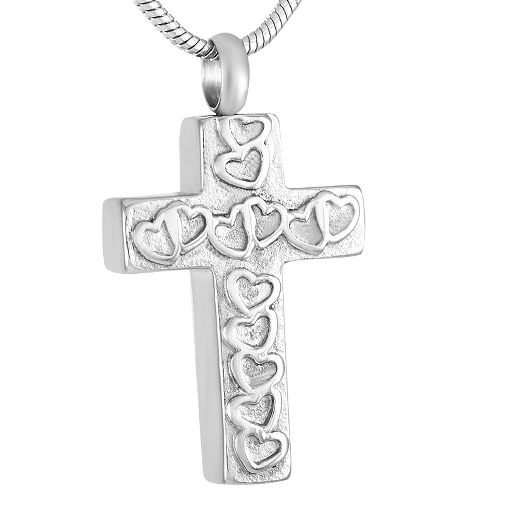 9321 Fashion Cremation Cross Urns Necklace, Jewelry Keeps Your Love Ones Ashes Safe ...