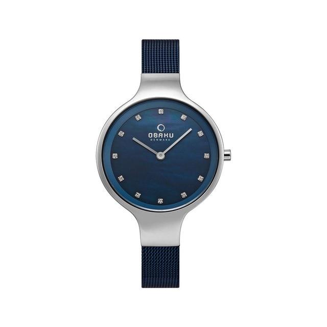 Наручные часы Obaku V173LXCLML женские кварцевые на браслете