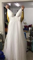 Vestido De Noiva Simple Beach Wedding Dress 2017 A Line V Neck Spaghetti Straps Sexy Boho