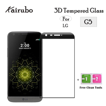 10PCS 3D Screen Protector sFor Glass LG G5 Tempered For LGG5 H850 VS987 H820 LS992 Anti-scratch Phone Film