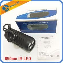 Iluminación infrarrojo IR para cámaras CCTV, Enfoque Ajustable de 5 80 grados, 12V, visión nocturna, 850nm