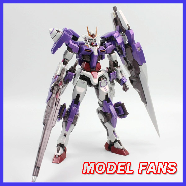 MODEL FANS INSTOCK Metalgearmodels metal build MB Gundam OO seven sword 7s Trans-Am System color high quality action figure model fans in stock metalgearmodels metal build mb gundam oo raiser oor trans am system color action figure