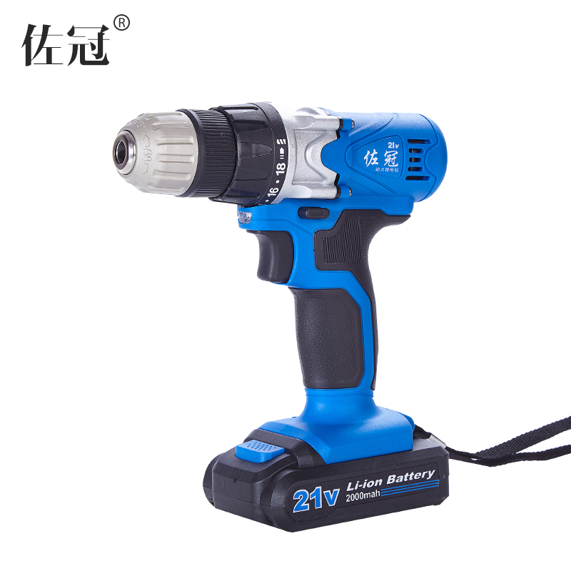 цена на 21V lithium battery rechargeable drill multifunctional household mini charging lithium electric screwdriver screwdriver drill