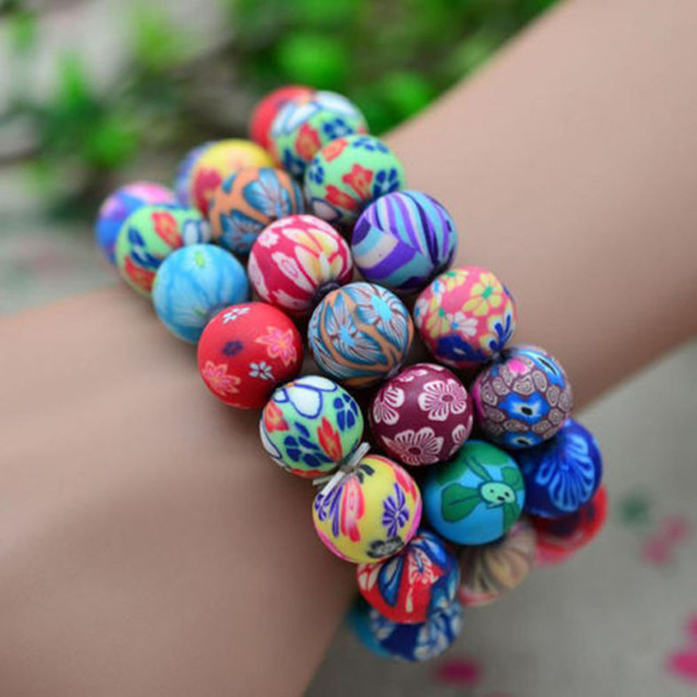 large for bracelet image beach studded colorful entry bracelets
