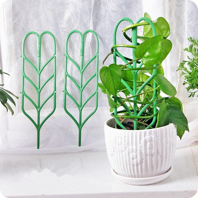 3pcs Diy Plastic Plant Support Artificial Climbing Plants