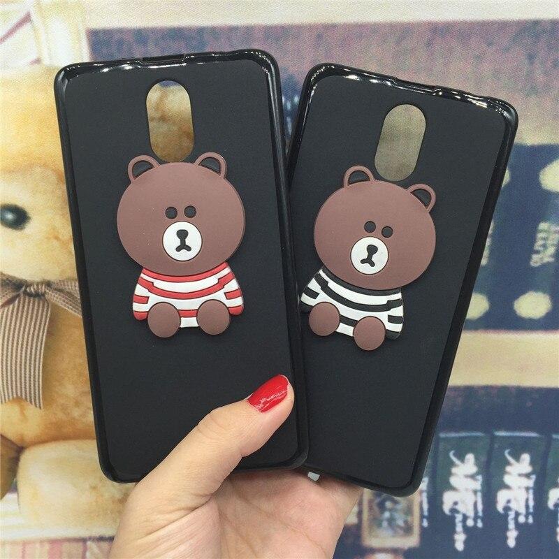 online store b3c43 5ecaf 3D Soft Silicone Phone Case Cover for Lenovo Vibe P1M P1ma40 Original Cute  Back Covers Cartoon Cases Capa Funda Coque Shell Bag