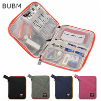 New Brand BUBM Digital Accessories Storage Bag Hard Drive Disk Cables USB Bag For Ipad Air