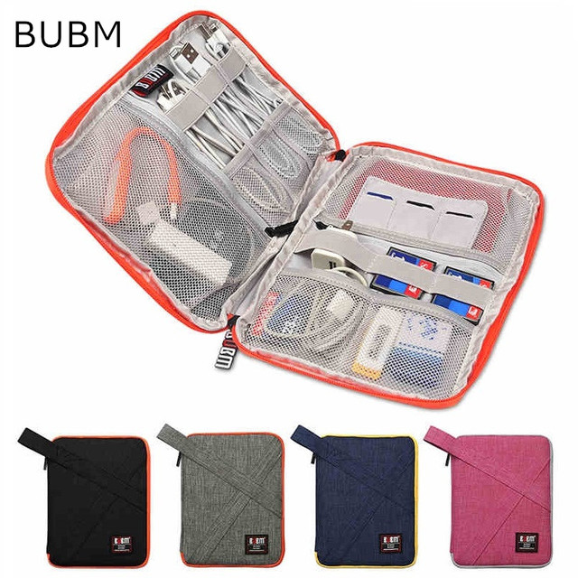 "2019 Newest Brand BUBM Case For ipad Air 9.7"", For ipad mini 7.9"", Digital Accessories Storage Bag For Tablet Free Drop Shipping"