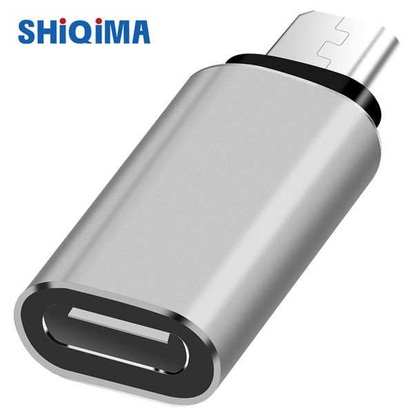 SHiQiMA  Type-C USB-C To Micro USB B 3.0 Date Charging Cable  Adapter Charger Converter For Samsung Xiaomi Meizu Huawei  Table